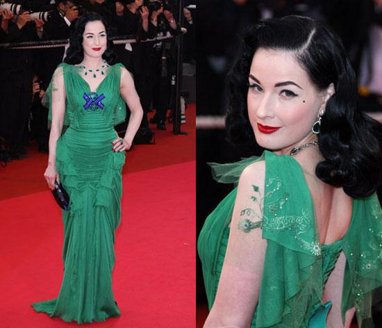 2008 Cannes Film Festival: Dita Von Teese