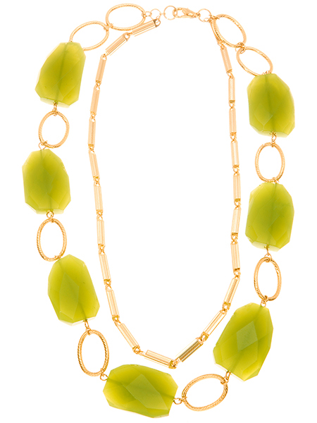 Marciano Donna Green Stone Necklace