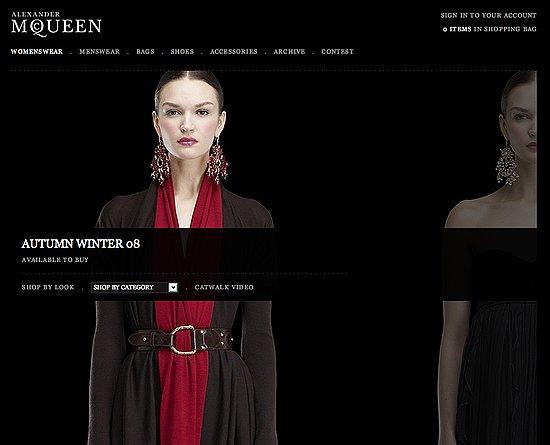 Fab Site: AlexanderMcQueen.com