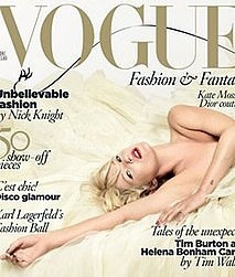 Fab Cover: Kate Moss For Vogue UK
