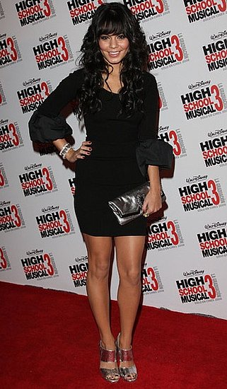 Vanessa Hudgens in Silver Sandals at High School Musical Premiere in Mexico City