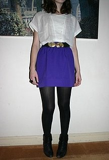 Look of the Day: A Pop of Purple