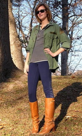 Look of the Day: Cavalry Chic