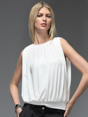 Fab Finger Discount: New York & Co. Grecian Draped Tube Blouse