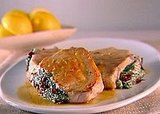Pork Chops Stuffed With Sundried Tomatoes and Spinach