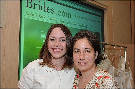 Me with editor-in-chief of Brides.com, Michelle Preli!