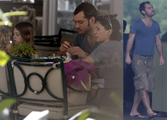 Photos of Jude Law and Sadie Frost in Rio de Janeiro