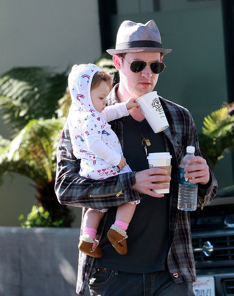 Joel and Harlow Out For Coffee