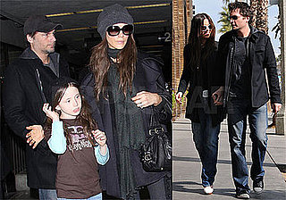 Photos of Kate Beckinsale and Len Wiseman in LA