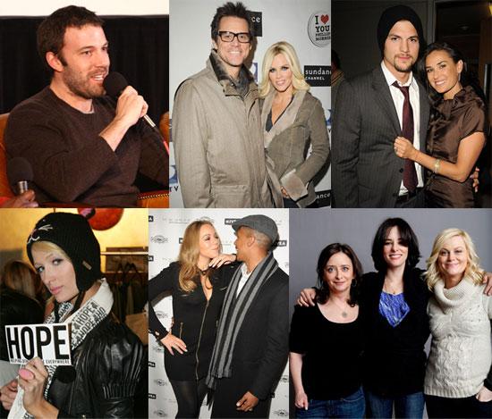 Jim, Jenny, Ben, Ashton and Mariah Smile at Sundance