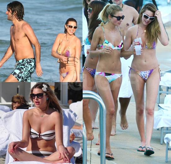 Photos of Bikini-Clad Whitney Port in Miami Filming The City