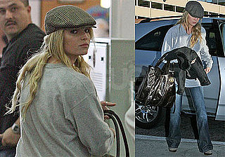 Photos of Jessica Simpson at Burbank with Daisy, Rumors that Engagement Is On the Way for Her and Tony Romo