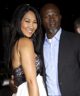 Kimora Lee Simmons and Djimon Hounsou Are Expecting a Baby Together
