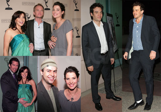 Photos of How I Met Your Mother's Pregnant Alyson Hannigan and Cobie Smulders with Josh Radnor, Jason Segel, Neil Patrick Harris