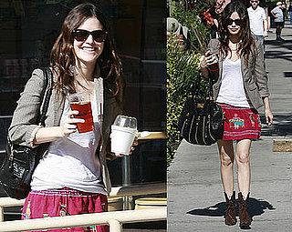 Rachel Bilson Shopping in LA
