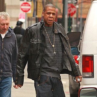 Jay-Z Out in NYC