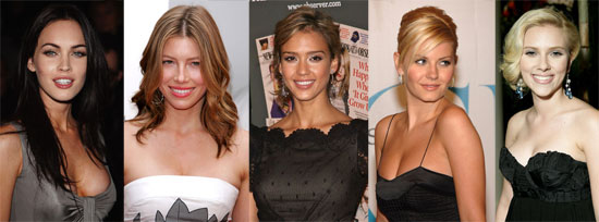 Do You Agree With the FHM Top Five Sexiest Women?