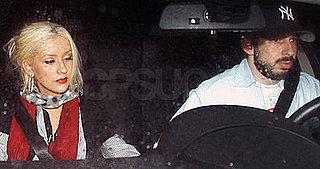 Christina Aguilera and Jordan Bratman Out At Villa on May 6, 2008