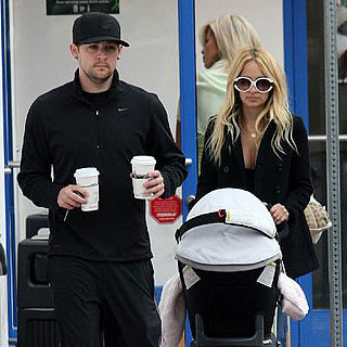 Nicole Richie and Joel Madden Get Coffee in LA