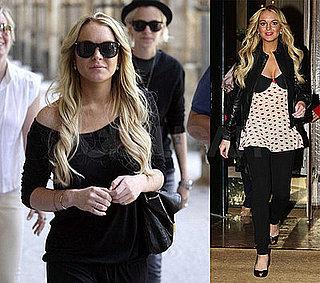 Lindsay's Still Frolicking Around France