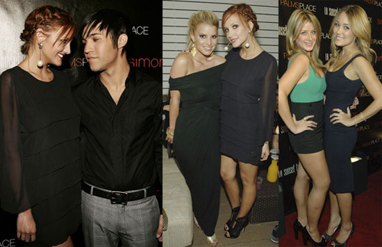 Photos of Ashlee Simpson, Jessica Simpson, Pete Wentz, Lauren Conrad, Lo Bosworth at the Grand Opening of Palms in Las Vegas