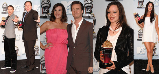 Winners of the 2008 MTV Movie Awards