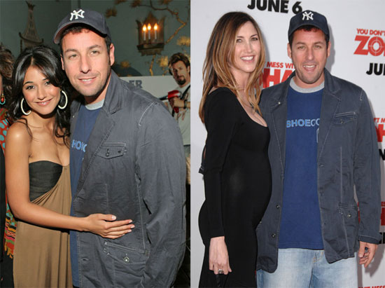 how did jacqueline titone and adam sandler meet