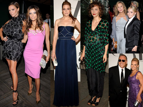 Photos of Victoria Beckham, Eva Longoria, Marc Jacobs at 2008 CFDA Awards in NYC