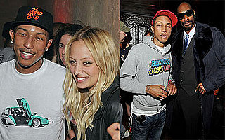 Nicole, Pharrell and Snoop N.E.R.D Out