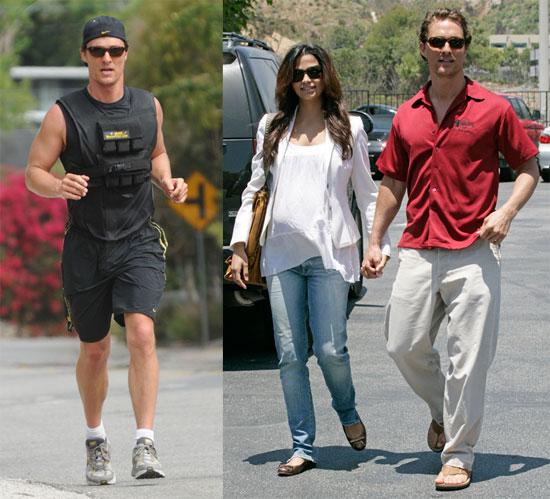 Matthew McConaughey and Camila Alves Date in Malibu