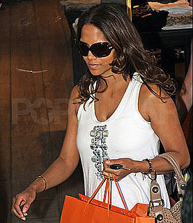 Halle Berry Out Shopping in LA