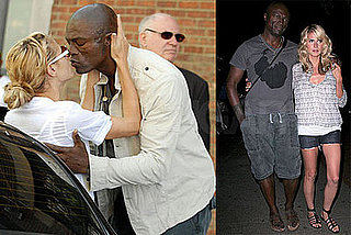 Heidi and Seal's Street Kiss Days and Lovey Nights