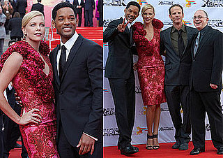 Will Smith and Charlize Theron Promote Hancock in Russia