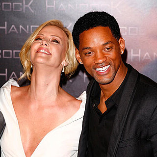 Charlize Theron at Will Smith Hancock Premiere