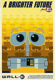 Sugar Shout Out: Cute Wall-E Posters Get Us Excited For Today's Release!