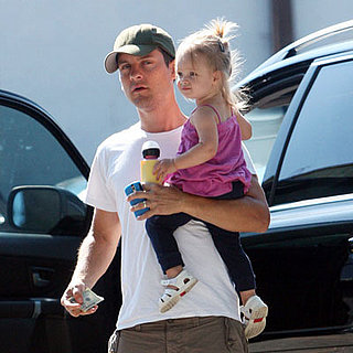 Tobey Maguire, Ruby Maguire Out in LA