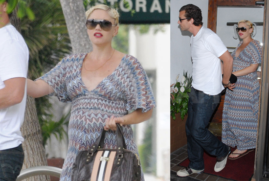 Photos of Pregnant Gwen Stefani and Gavin Rossdale in LA
