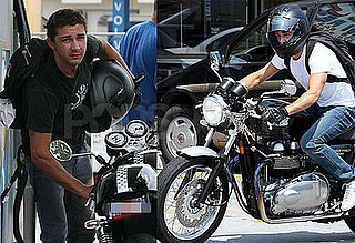 Shia Gets a New Set of Wheels
