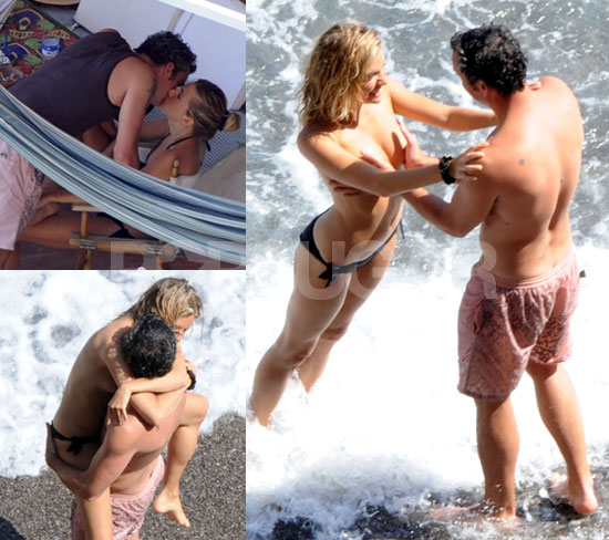 NSFW Topless Photos of Sienna Miller and Balthazar Getty in Italy