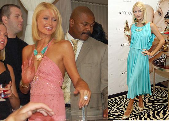 Photos of Paris Hilton Debuting Shoe Line in Las Vegas
