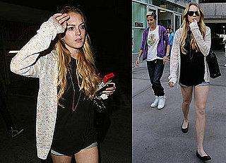 Photos of Lindsay Lohan and Samantha Ronson With A New Hairdo