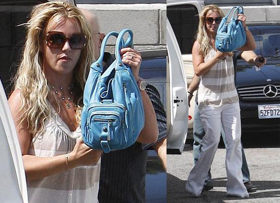 Photos of Britney Spears Leaving a Salon in LA
