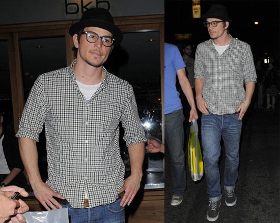 Photos of Josh Hartnett Out in NYC 2008-07-31 12:30:57
