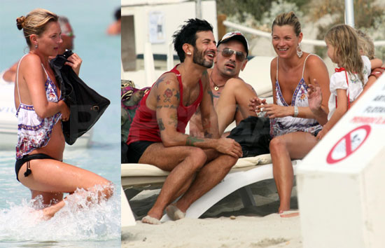 Photos of Kate Moss and Marc Jacobs On Vacation in Spain