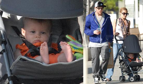 Photos of Nicole Richie, Harlow Madden, Joel Madden Shopping in LA
