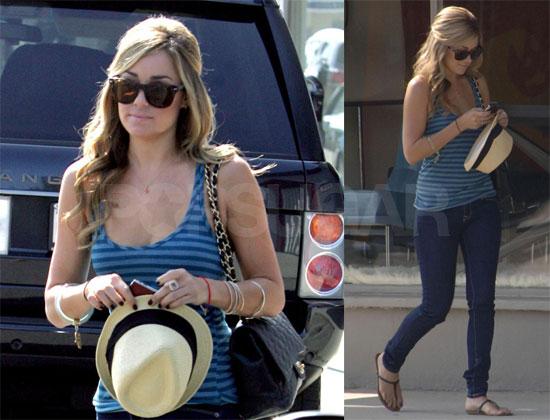 Photos of Lauren Conrad Out in LA; Denies Dating Kyle Howard