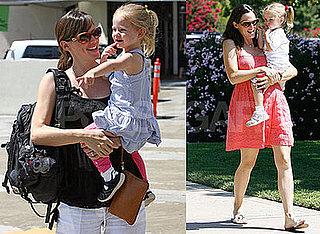 Photos of Jennifer Garner and Celebrity Baby Violet Affleck at Giggles and Hugs