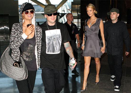 Photos of Paris Hilton and Benji Madden at Nobu