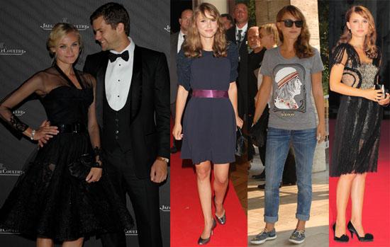Photos of Joshua Jackson, Diane Kruger, Natalie Portman at the Venice Film Festival