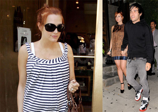 Photos of Pregnant Ashlee Simpson and Pete Wentz Who Were Rumored to Have Twins